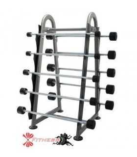Mueble contenedor con 10 barras fijas incluidas Bodytone