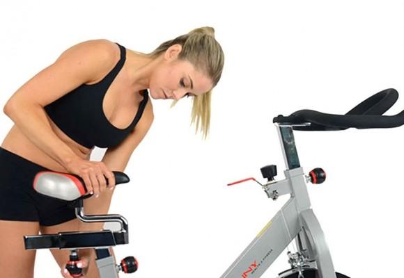 Importancia del ajuste del sillín de la bicicleta estática