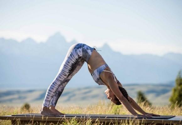 6 posturas  de Yoga para deportistas