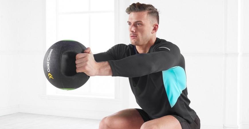 Los 5 mejores ejercicios con balon medicinal