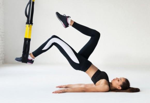 10 ejercicios con TRX potentes para mantenerte en forma